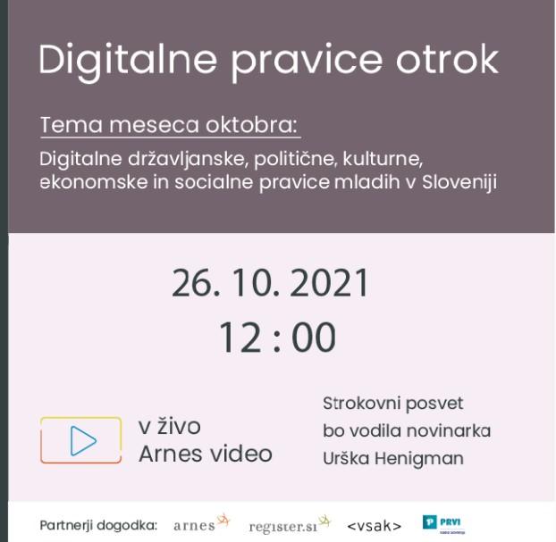 Digitalne pravice otrok